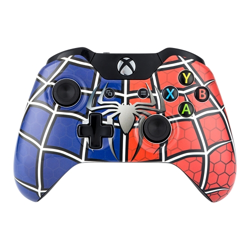 Spiderman Themed Xbox One Controller
