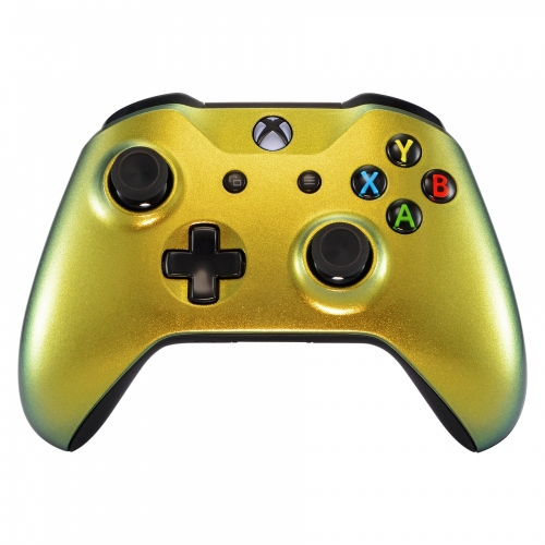 Green Gold - Custom Xbox One Controller