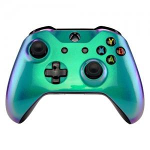 Green Purple - Xbox One Controller